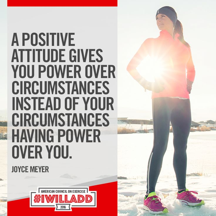 Description A Positive Atude Gives You Power