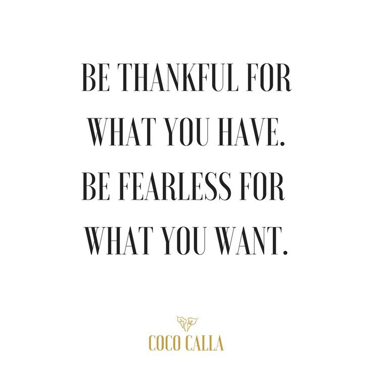 Business Quotes Be Thankful For What You Have Be Fearless For