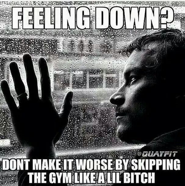 Fitness Quotes You Pussy Real Men Work Out Min 6 Days A Week Back