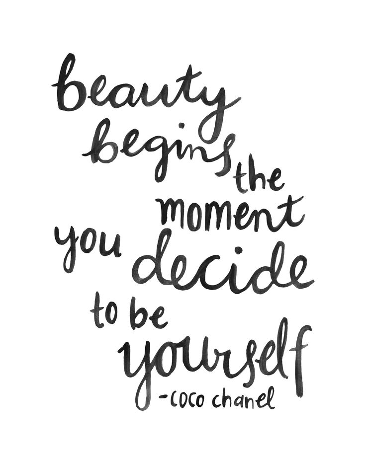 Inspirational Quotes About Positive: Love Quotes : Coco Chanel Quotes, Hand Lettering Coco