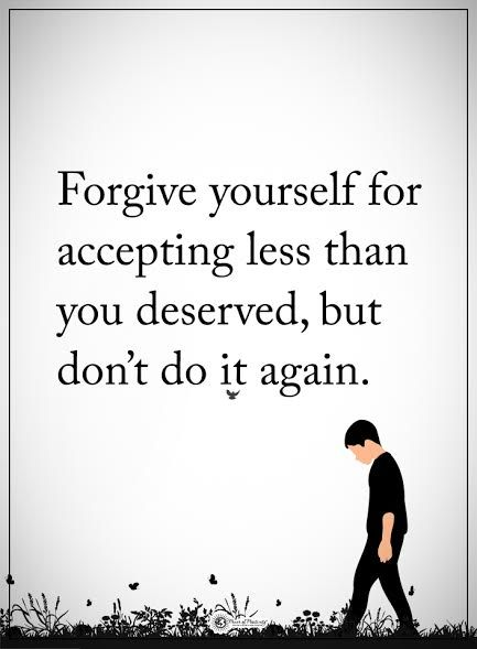 Quotes about ex forgive yourself for accepting less than you quotes about ex solutioingenieria Images