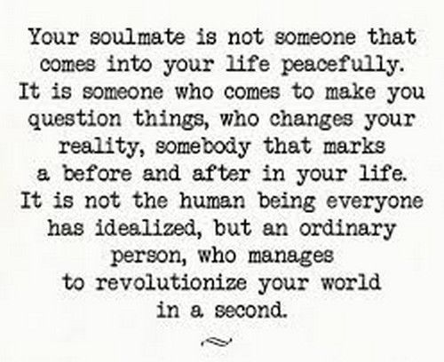 Quotes About True Love Entrancing Soulmate Quotes  True Soulmate Messages That Inspire