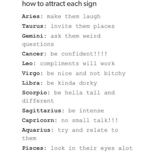 What Zodiac Signs Attract Each Other