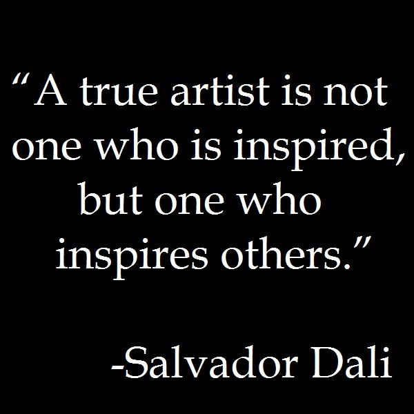 Quotes About Inspiring Others Glamorous Best Positive Quotes  A True Artist Inspires Otherssalvador
