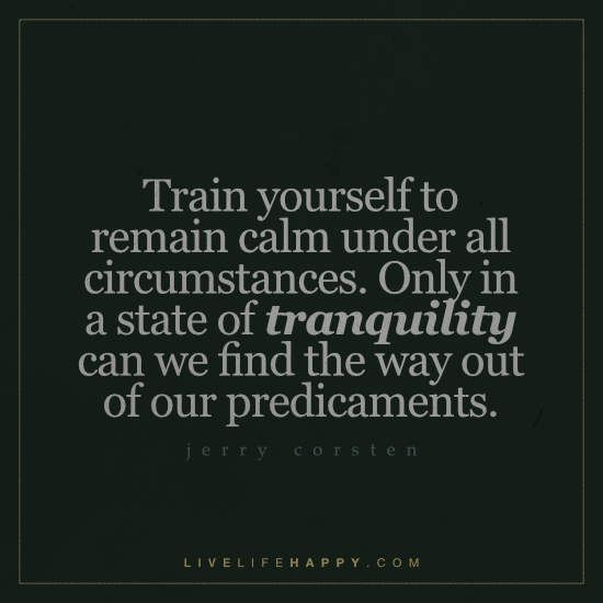 Best Positive Quotes Deep Life Quote Train Yourself To Remain