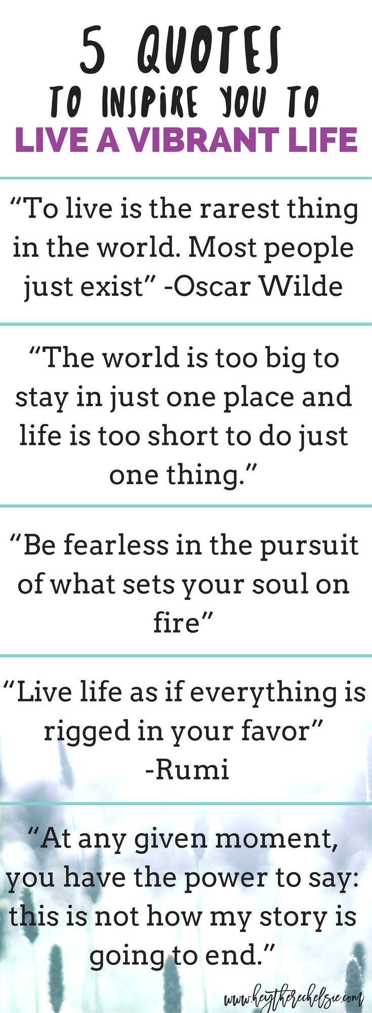 Live Life Quotes Best Positive Quotes  Sharing 20 Quotes To Inspire You To Live A