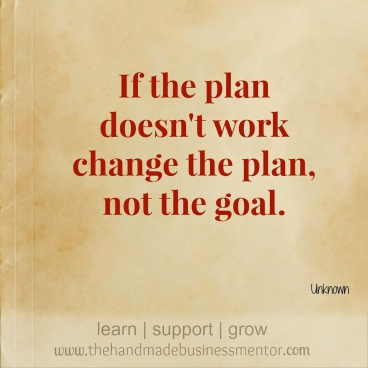 First Day Of Business Quotes: Business Quotes : IF The Plan Doesn't Work Change The Plan