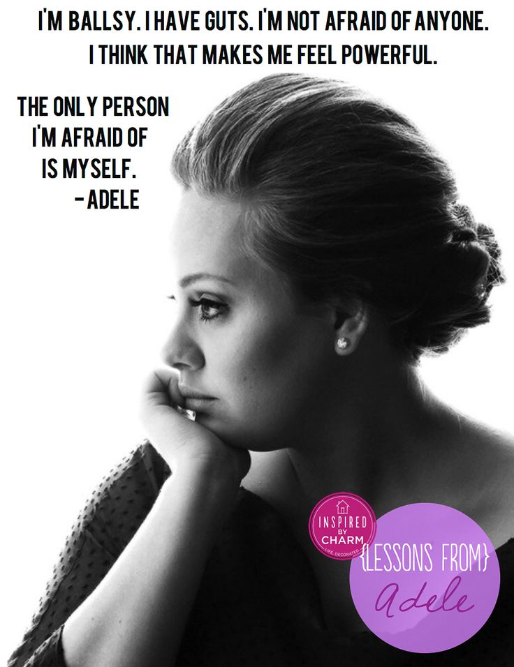 Famous Celebrity Quotes Adele