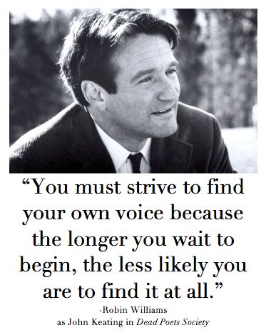 Famous Celebrity Quotes You Must Strive To Find Your Own Voice