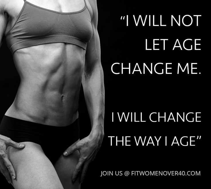 Fitness Quotes Fit Women Over 40 Live A Longer Healthier Life By