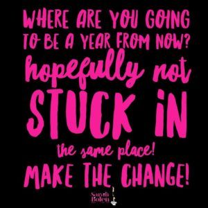 Fitness Quotes Where Are You Going To Be A Year From Now Faith