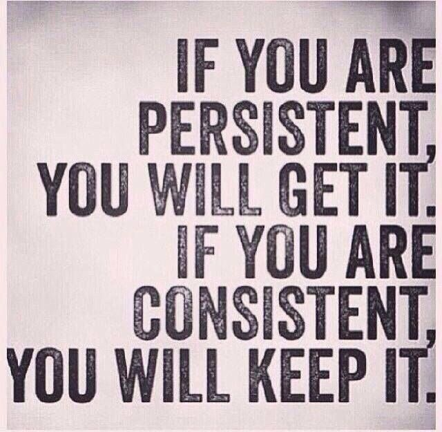 Motivational Quotes Consistency And Persistency: Inspirational And Motivational Quotes : Persistency