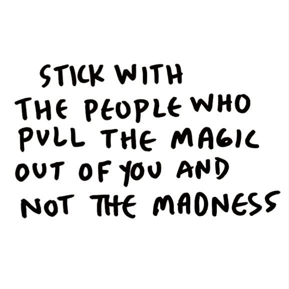 Positive People Quotes Interesting Best Positive Quotes  Stick With The People Who Pull The Magic