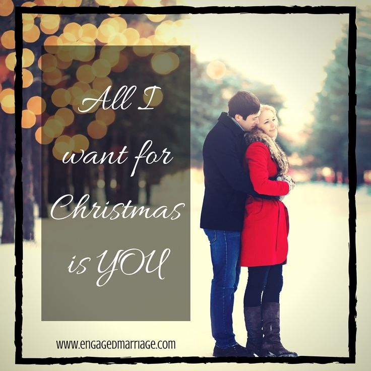 All i want for christmas is you love quotes
