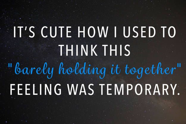 Most Funny Quotes : Barely Holding It Together