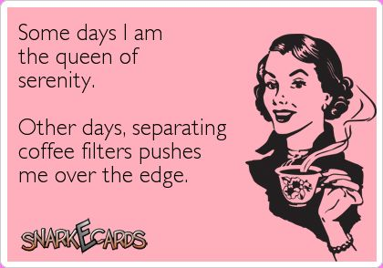 Most Funny Quotes Some Days I Am The Queen Of Serenity Other Days