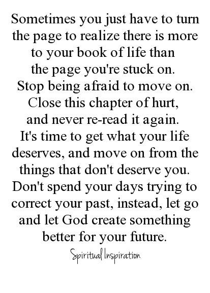 Moving On Quotes : let go and let God...... - Quotes Boxes ...