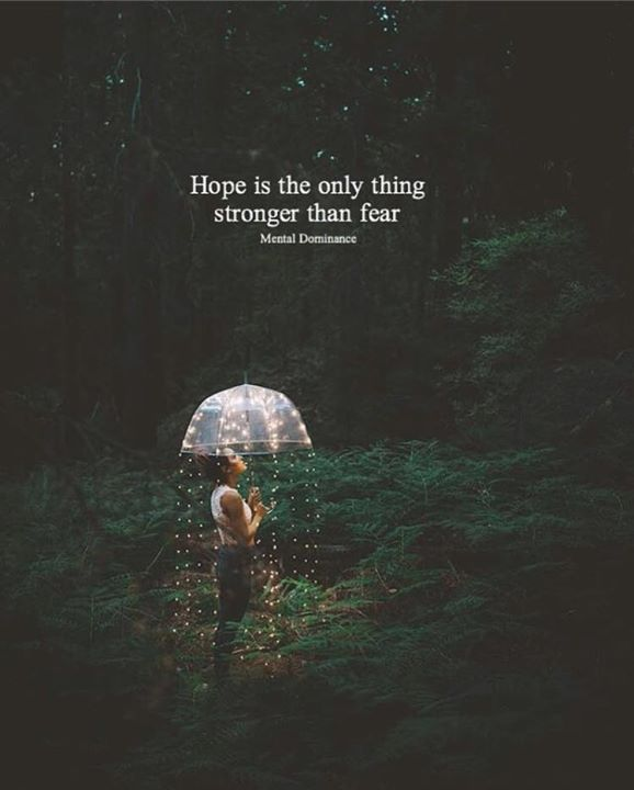 Fear Quotes Brilliant Positive Quotes  Hope Is The Only Thing Stronger Than Fear
