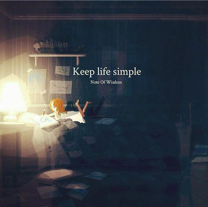 Positive Quotes Keep Life Simple Quotes Boxes You Number