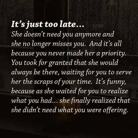 Late Quotes Interesting Quotes About Ex  It's Just Too Late Quotes Boxes  You