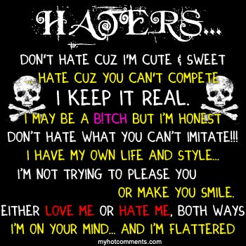 Quotes About Jealousy To All My Haters Quotes Pictures Of Hater