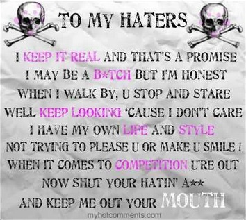 Quotes About Jealousy To My Haters Quote Quotes Boxes You