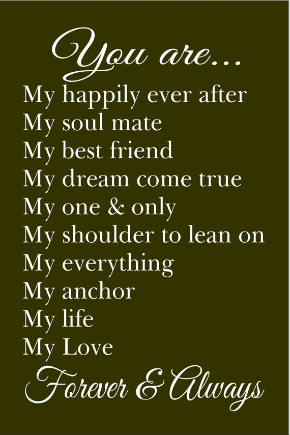 Soulmate Quotes My Only Love Quotes Boxes You Number One