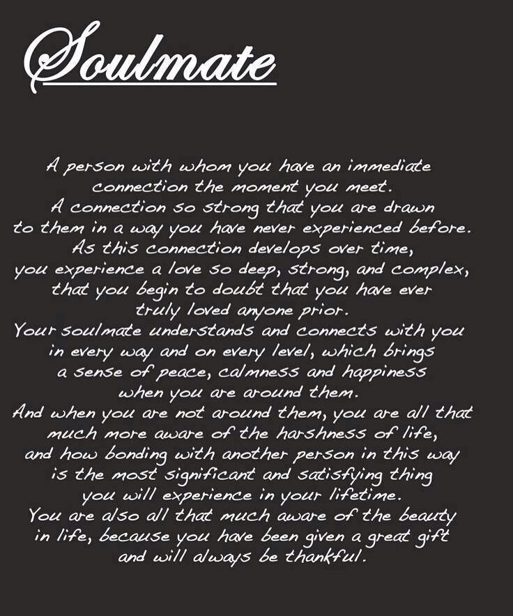 Soulmate Quotes This Is So True God Has Blessed Me With Our