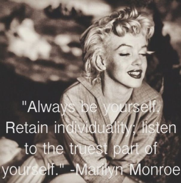 Famous Celebrity Quotes Marilyn Monroe Quote Quotes Boxes