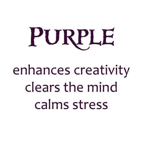 Astrology Quotes The Meaning Of The Color Purple Want To Paint