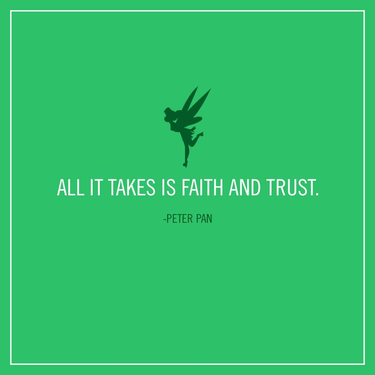 Trust In Business Quotes: Business Quotes : All It Takes Is Faith And Trust