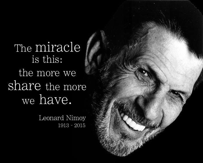 Leonard Nimoy Quotes Awesome Famous Celebrity Quotes  Leonard Nimoy Quotes Boxes  You