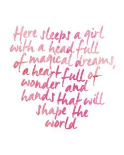 "Magical Love Quotes New Love Quotes  ""here Sleeps A Girl With A Head Full Of Magical"