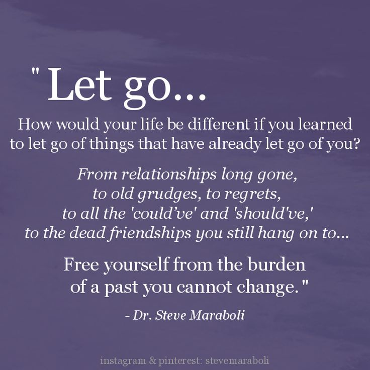"Quotes About Past Friends: Moving On Quotes : ""Let Go... How Would Your Life Be"