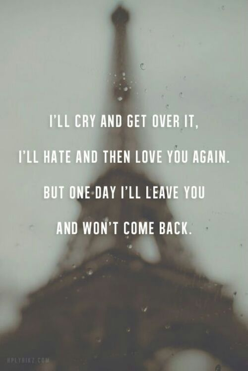Moving On Quotes One Day Ill Leave Quotes Boxes You Number