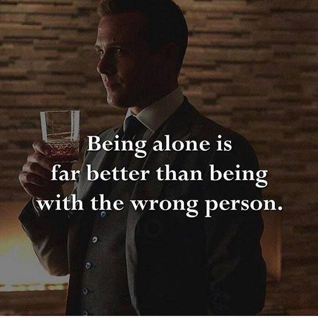 positive quotes being alone is far better than being