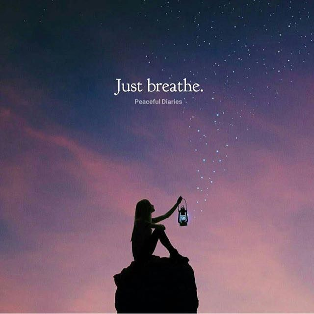 Positive Quotes : Just breathe.... - Quotes Boxes | You ...