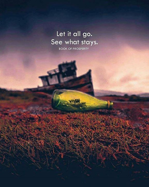 Positive Quotes Let It All Go See What Stays Quotes Boxes