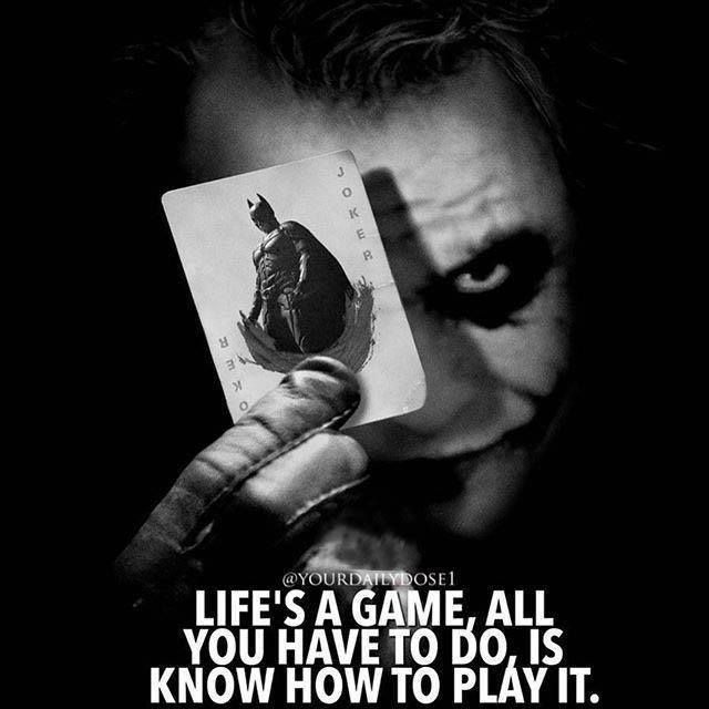 Positive Quotes Life S A Game All You Have To Do Is Know How To