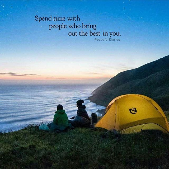 Positive Quotes Spend Time With People Who Bring Out The Best In
