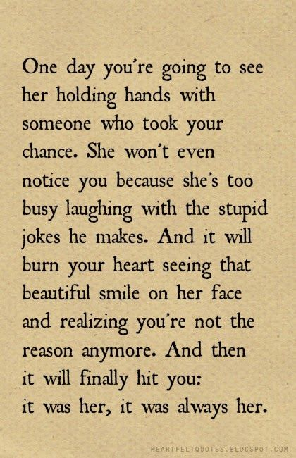 Quotes About Ex Heartfelt Quotes One Day Youre Going To See Her