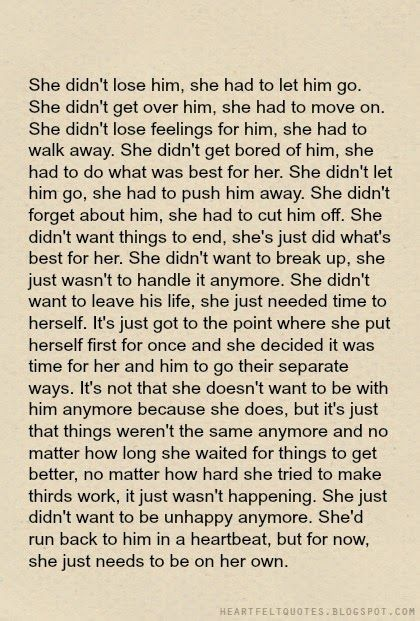 Quotes About Ex She Let Go Its So Hard When You Love Someone So