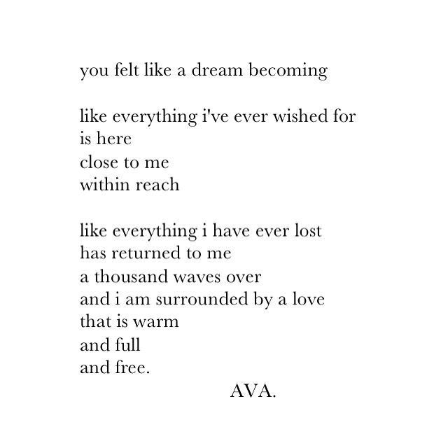 Soulmate Quotes : AVA. instagram: vav.ava #poetry #quotes ...