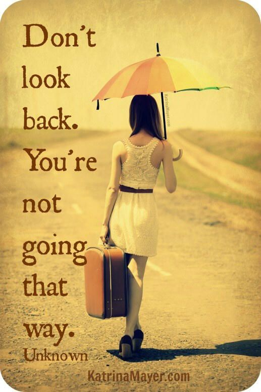 Breaking Up And Moving On Quotes Look Back And Smile Because You