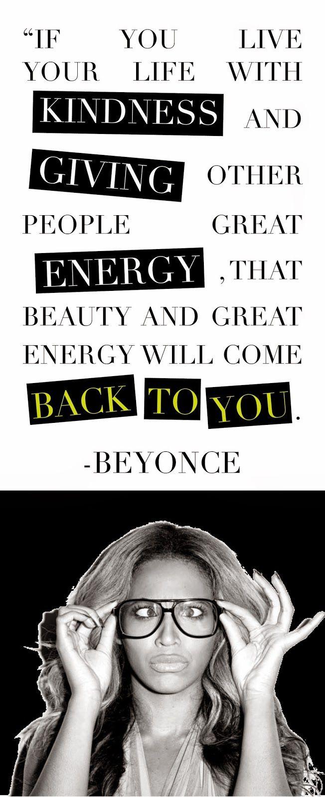 Description. Beyonce Quote