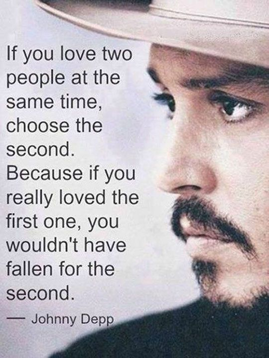 Famous Celebrity Quotes Johnny Depp On Love At Prachi Adhikari