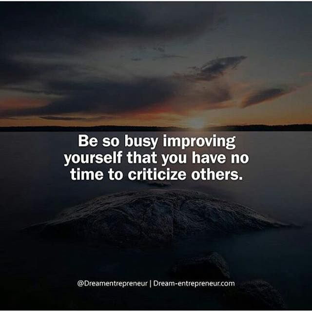 Positive Quotes Be So Busy Improving Yourself Quotes Boxes