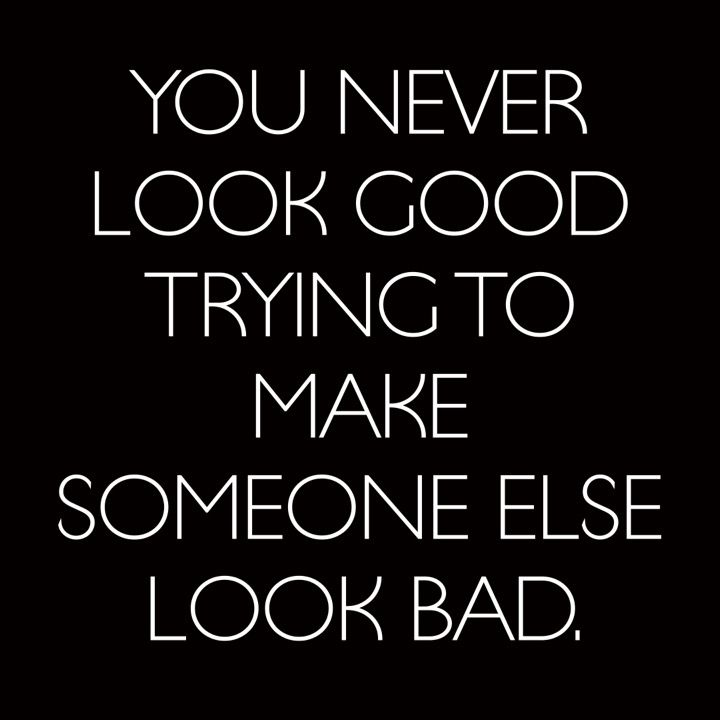 Quotes About EX : You Never Look Good Trying To Make