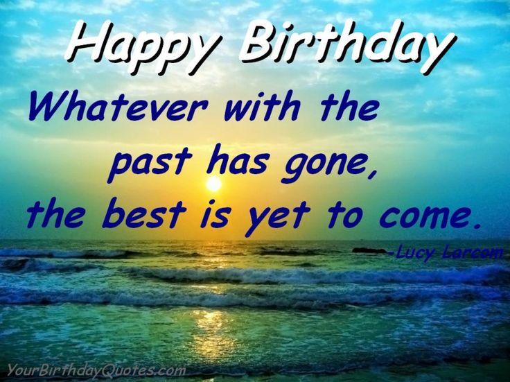 17 Best Birthday Wishes Quotes On Pinterest Happy Birthday 221810
