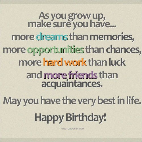 17 Best Images About Birthday Quotes On Pinterest Birthday 565213